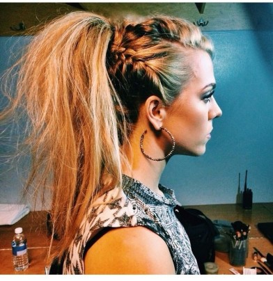 pretty-ponytail-with-braids-long-hairstyles-for-spring-2015